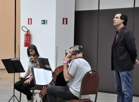 No evento se apresentou o quarteto de cordas de jovens de São João Nepomuceno, sob a regência do maestro é João Paulo Fazza, que também assumiu o projeto do Conjunto de Cordas Camilo Dos Santos em Coronel Pacheco.